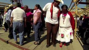 Xilitla χορεύοντας 4 απόθεμα βίντεο