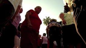 Xilitla Dansende 1 stock footage