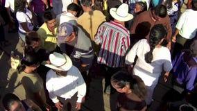 Xilitla Dansende 2 stock footage