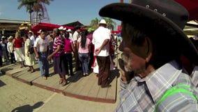 Xilitla, das 3 tanzt stock video footage