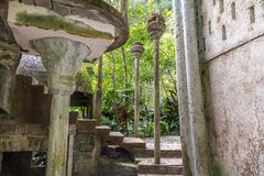 Xilitla - Edward James Garden lizenzfreie stockfotos