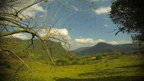 Xilitla Timelapse. Timelapse in Xilitla, Mexico rural countryside stock video footage