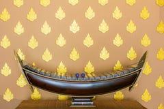 Xilofone de madeira tailandês do alto Fotos de Stock