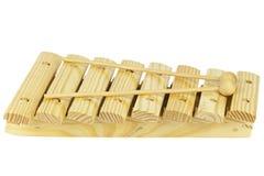 Xilofono di legno Fotografia Stock Libera da Diritti