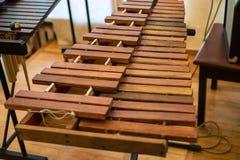 Xilofono e magli del primo piano Fotografia Stock Libera da Diritti
