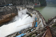 Xiluodu hydropower giant Royalty Free Stock Images