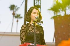 Ximena Sariñana, Mexican singer-songwriter and actress during D Stock Photography
