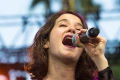 Ximena Sariñana, Mexican singer-songwriter and actress during D Stock Photos