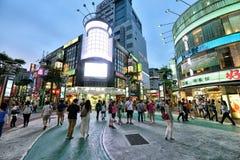 Ximending, Ταϊπέι Στοκ Φωτογραφίες