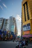 Ximending, Тайвань стоковая фотография rf