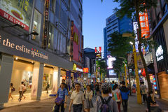 Ximending District, Taipei, Taiwan Royalty Free Stock Image