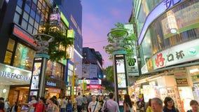 Ximending District, Taipei, Taiwan Stock Photos
