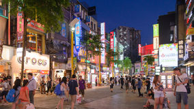 Ximending District, Taipei, Taiwan Royalty Free Stock Images
