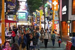 Ximending shopping royalty free stock photo