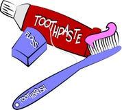 ximpx zęby royalty ilustracja