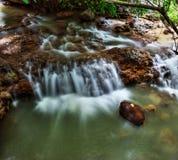 Xin Beitou Gorącej wiosny rzeka Zdjęcie Royalty Free