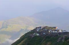 Xinaliq, Αζερμπαϊτζάν, ένα μακρινό ορεινό χωριό στη μεγαλύτερη σειρά Καύκασου Στοκ φωτογραφία με δικαίωμα ελεύθερης χρήσης