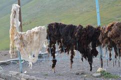 Xinaliq, Αζερμπαϊτζάν, ένα μακρινό ορεινό χωριό στη μεγαλύτερη σειρά Καύκασου Στοκ φωτογραφίες με δικαίωμα ελεύθερης χρήσης
