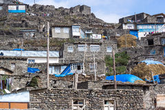 Free Xinaliq Village Royalty Free Stock Image - 28734026
