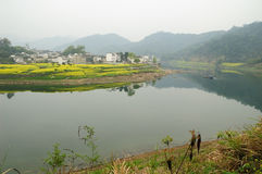 Xinanjiang Landschaft Stockfotografie