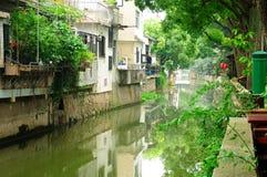 Xinchang Antyczny miasteczko Szanghaj Zdjęcia Royalty Free