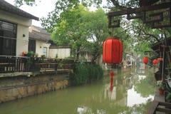 Xinchang forntida stad Shanghai pudong Fotografering för Bildbyråer