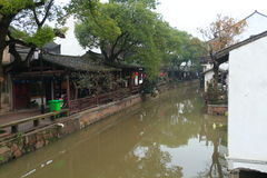 Xinchang forntida stad Shanghai pudong Royaltyfri Bild