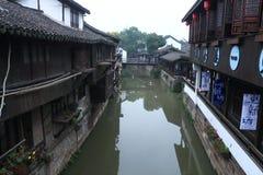 Xinchang forntida stad Shanghai pudong Royaltyfri Fotografi