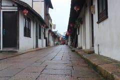 Xinchang forntida stad Shanghai pudong Royaltyfria Bilder