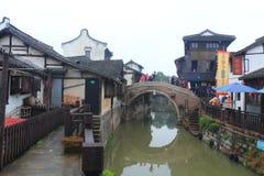 Xinchang forntida stad Shanghai pudong Royaltyfria Foton