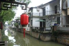 Xinchang forntida stad Shanghai pudong Royaltyfri Foto
