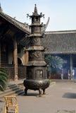 Xindu, China: Pagoda Paper Burner Temple Royalty Free Stock Photo