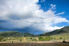 Xinduqiao scenery Royalty Free Stock Images