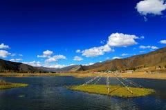Xinduqiao, un paraíso del ` s del fotógrafo Fotografía de archivo