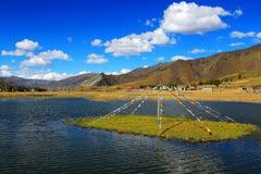 Xinduqiao, un paraíso del ` s del fotógrafo Imagenes de archivo