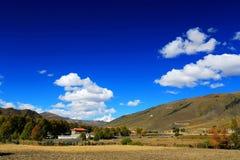Xinduqiao, un paraíso del ` s del fotógrafo Fotografía de archivo libre de regalías