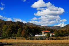 Xinduqiao, un paraíso del ` s del fotógrafo Foto de archivo libre de regalías
