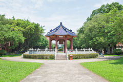 The Xing Pavilion. In Sun Yat-Sen University, Guangzhou of China Stock Photos