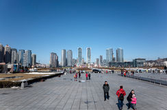 Xinghai kwadrat Fotografia Stock