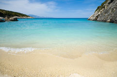 Xingia beach Royalty Free Stock Image