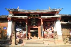 Xingjiao tempel Royaltyfri Fotografi