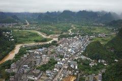 Xingping Town Stock Photo