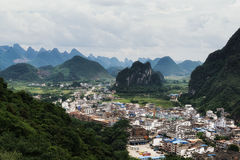 The xingping viewpoint Stock Photo