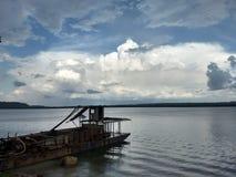 Xingu flod royaltyfri bild