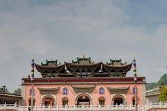 XINING, CHINA - Jun 30 2014: Kumbum Monastery. a famous landmark. In the Ancient city of Xining, Qinghai, China stock photography