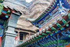 XINING CHINY, Jul, - 5 2014: Północna Halna świątynia (Tulou Guan) n Zdjęcie Royalty Free