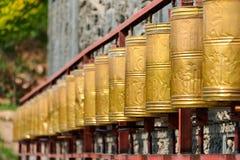 XINING CHINY, Jul, - 6 2014: Południowa Halna świątynia (Nanshan si) A Fotografia Stock