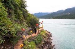 Xinjiang's Heavenly Lake Stock Photography