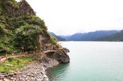 Xinjiang's Heavenly Lake Stock Photos