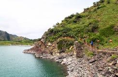 Xinjiang's Heavenly Lake Royalty Free Stock Images